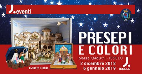 Presepi e colori - piazza Carducci fino al 6 gennaio 2019