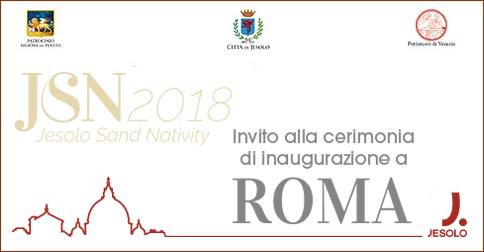 Inaugurazione Sand Nativity a Roma: come partecipare