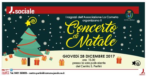 Concerto di Natale dell'Associazione La Cometa presso il Centro Pertini di Jesolo