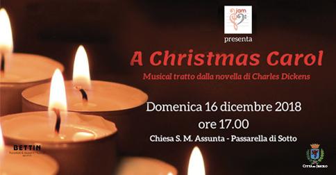 A Christmas Carol,musical - chiesa di S. Maria Assunta di Passarella - Jesolo 16 dicembre 2018