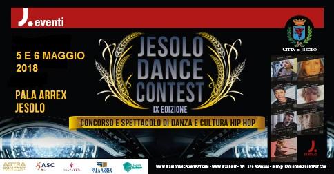 Jesolo dance contest 2018 al palazzo del turismo di Jesolo
