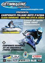 locandina campionato nazionale moto d'acqua