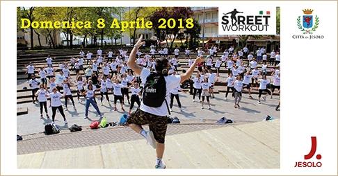 Street workout Muoviti per Smuovere domenica 8 aprile a Jesolo - Republic sport Village