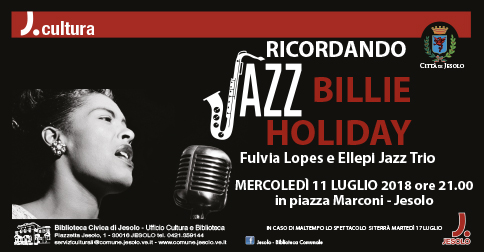 Ricordando Billie Holiday concerto a Jesolo