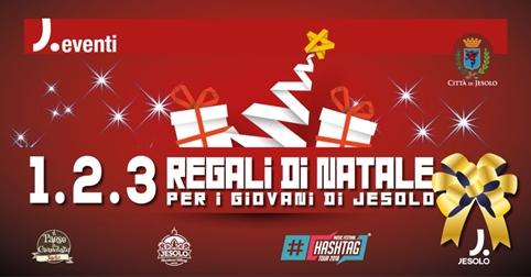 1. 2. 3. Regali di Natale per i Giovani di Jesolo