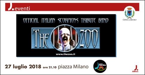 The Zoo - Scorpions tribute a Jesolo
