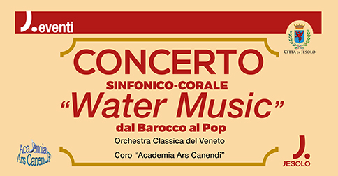 """Concerto """"Water Music"""" a Jesolo"""