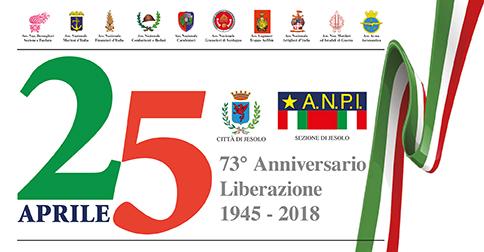 25 aprile 73° anniversario della liberazione