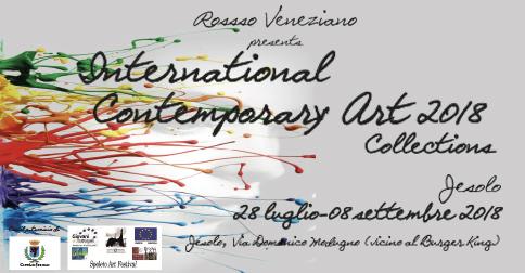 Mostra International Contemporary art- Lido di Jesolo, Complesso residenziale Isola Blu,