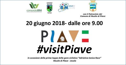 Visit Piave area golenale Musile di Piave 20 giugno 2018