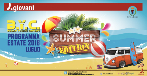 BYC Beach Young Center di Jesolo - Summer edition  luglio 2018