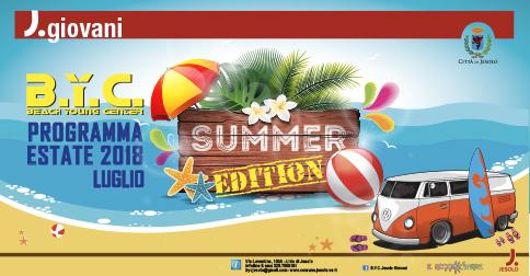 BYC Beach Young Center di Jesolo - Summer edition  luglio 2018