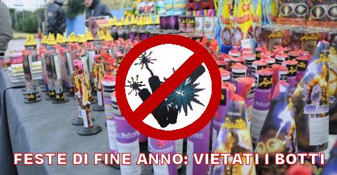 Per ragioni di pubblica sicurezza vietati i botti di fine anno nel Comune di Jesolo