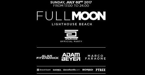 Full Moon Dj festival, Jesolo, 2 luglio 2017