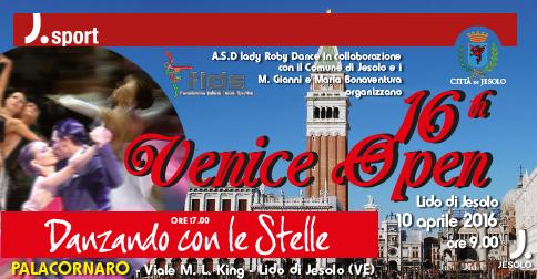Venice Open gara di ballo a Jesolo il 10 aprile 2016