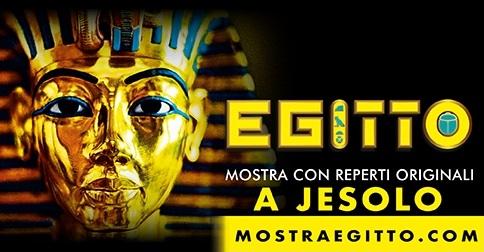 Mostra antico Egitto a Jesolo