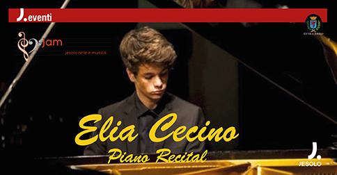 Elia Cecino Piano Recital, 28 gennaio 2017, Centro Civico di Passarella