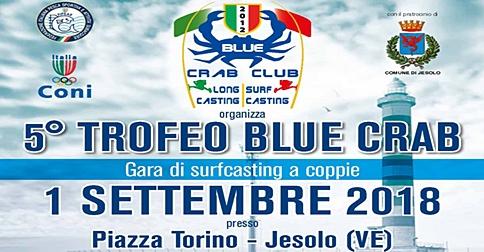 Trofeo Blue Crab, gara di pesca Surfcasting a Jesolo