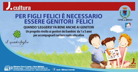 Figli felici genitori felici letture e incontri per bambini e genitori