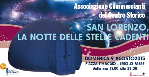 San Lorenzo, la notte delle stelle cadenti