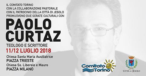 Serate culturali con il teologo Paolo Curtaz a Jesolo