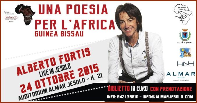 Alberto Fortis Live in Jesolo all'Hotel Almar il 24 ottobre 2015