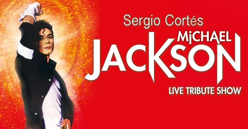 Sergio Cortés in Michael Jackson Live Tribute Show a Jesolo il 29 settembre giugno 2018