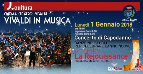 Concerto di Capodanno 2018 a Jesolo con l' orchestra La Réjouissance