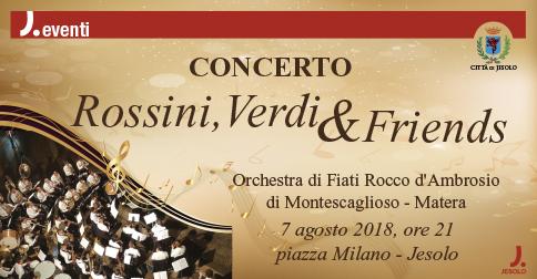 Concerto Rossini, Verdi & friends a Jesolo