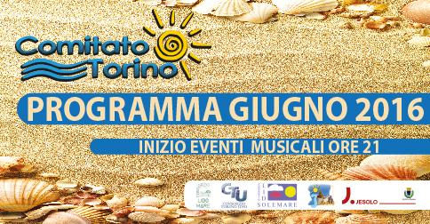 eventi piazza Torino Jesolo estate 2016