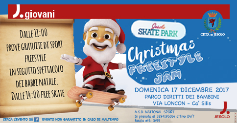 Christmas Freestyle Jam Jesolo Skate Park