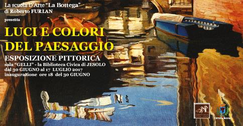 Mostra di pittura Luci e colori del paesaggio , Biblioteca Civica Jesolo