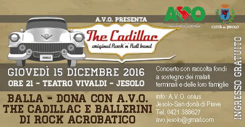 The Cadillac original Rock 'n Roll Band con concerto a Jesolo il 15 dicembre
