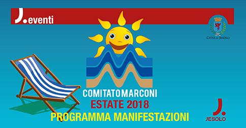 Eventi dell'estate nelle piazze Marconi e Carducci a Jesolo