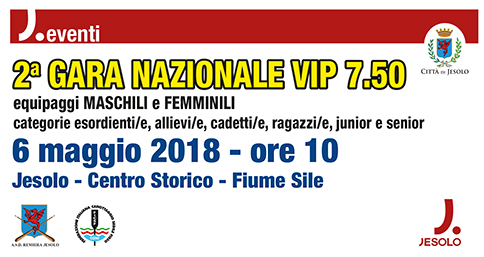 Voga In Piedi - Coppa Italia 2018 a Jesolo