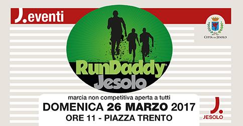 RunDaddy Jesolo, 26 marzo 2017, piazza Trento
