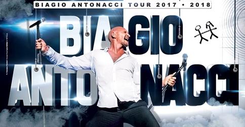 Biagio Antonacci in concerto a Jesolo il 12 dicembre 2017, al Pala Arrex