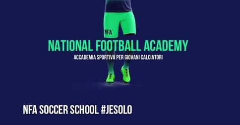 NFA Soccer School Accademia sportiva per giovani calciatori -a Jesolo, Republic Sport Village. Open day 24 giugno 2018