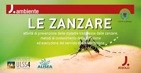 Le zanzare: Incontro pubblico Sala Consiglio del Municipio di Jesolo 15 maggio 2018