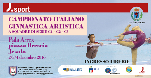 Campionato Italiano di Ginnastica artistica a squadre serie C a Jesolo