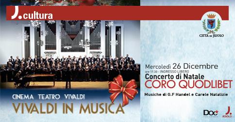 Concerto di Natale 2018 - Coro Quodlibet