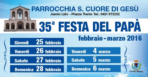 Festa del papà a Jesolo-piazza Trento- dal 25 febbraio al 6 marzo 2016