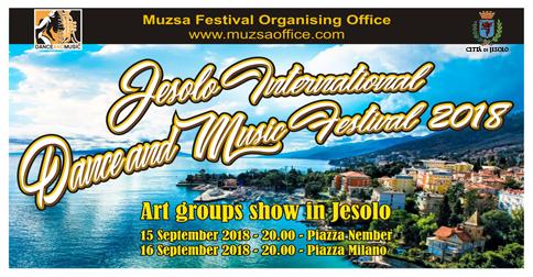 Jesolo international dance and music festival 2018
