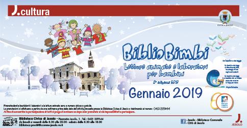 BiblioBimbi 2019 tutti gli appuntamenti alla Biblioteca di Jesolo