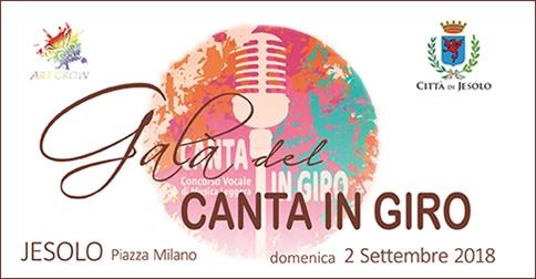 Canta in Giro: concorso canoro 2018 a Jesolo