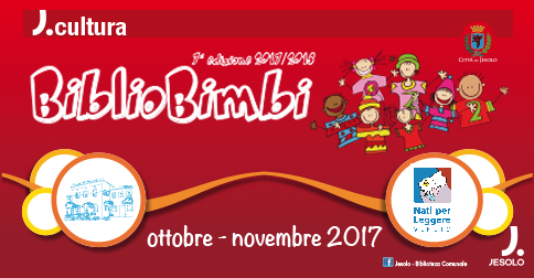 BiblioBimbi 2017-2018 tutti gli appuntamenti alla Biblioteca di Jesolo
