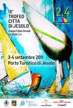 locandina IX Trofeo Città di Jesolo Classe 2.4