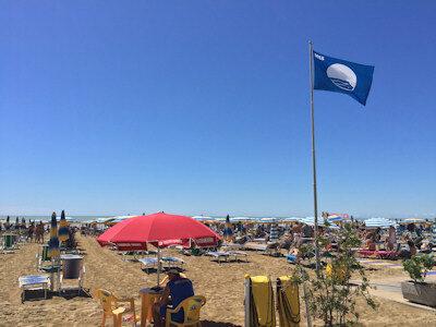 La Bandiera Blu delle Spiagge a Jesolo