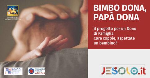 progetto adoces bimbo dona papà dona