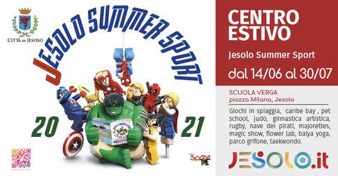 Centro estivo Jesolo Summer sport 2021